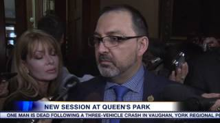 getlinkyoutube.com-video: New session at Queen's Park kicks off with hydro winter disconnections