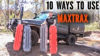 getlinkyoutube.com-MAXTRAX ,10 ways to use Maxtrax 4x4 tips