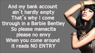 getlinkyoutube.com-Nicki Minaj - Sweet Dreams Verse Lyrics Video