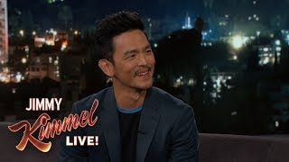 John Cho on His Parents & New Movie Searching