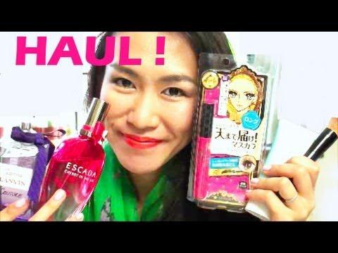 Japanese Drugstore Haul - Heroine Make, Shiseido etc