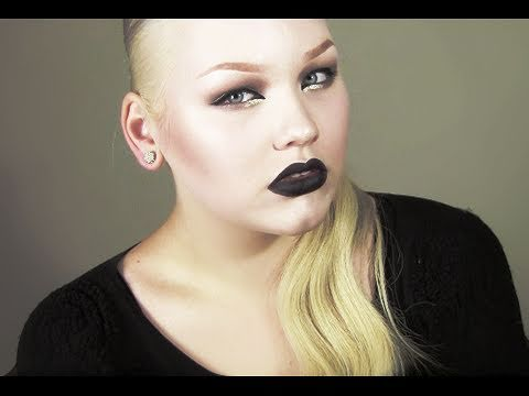 Kim Kardashian Goth Inspired Makeup Tutorial