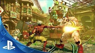 getlinkyoutube.com-PlayStation Experience 2015: Street Fighter V Conversation | PS4