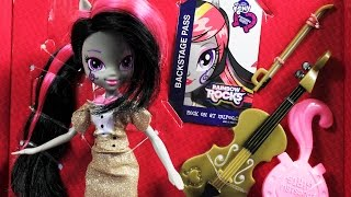 getlinkyoutube.com-Octavia Melody Doll and Pony Set / Octavia Melody Lalka i Kucyk - Rainbow Rocks - MLP