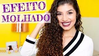 getlinkyoutube.com-CABELO CACHEADO COM EFEITO MOLHADO | Por Jessica Melo
