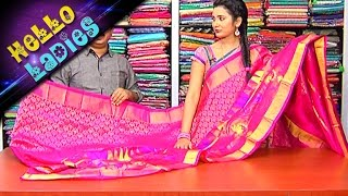 getlinkyoutube.com-Wonderful Collection of Kanchi,Uppada Pattu And Pettubadi Sarees || Hello Ladies || Vanitha TV
