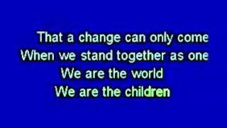 We Are The World - USA for Africa (Official Karaoke) MME Collection