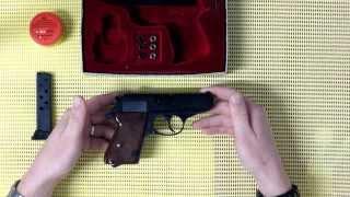 getlinkyoutube.com-Flobert pistole ERMA - WERKE Mod. ERP 74 cal. 4mm M20 (Walther PPK)
