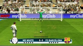 getlinkyoutube.com-PES 2017 - PENALTY KICKS - REAL MADRID VS BARCELONA -  PS4 Gameplay