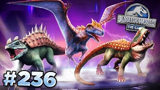 getlinkyoutube.com-NEW Creatures! || Jurassic World - The Game - Ep236 HD