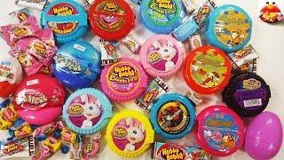 getlinkyoutube.com-Hubba Bubba Vs Kidsmania Bubble Gum Tape Rolls & Surprise Eggs