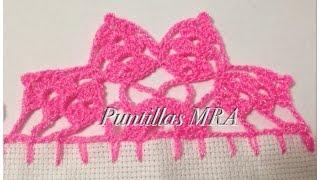 getlinkyoutube.com-Puntilla para servilleta MRA 11