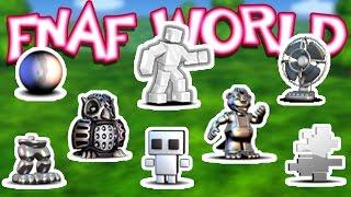 getlinkyoutube.com-Scott Cawthon, All Trophies & Endings! [Ep. 14] | FNaF World : HARD MODE