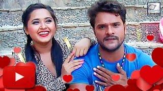 getlinkyoutube.com-Khesari Lal Yadav CONFIRMS His Love Affair With Kajal Raghwani! | Lehren Bhojpuri