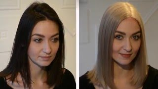 getlinkyoutube.com-DARK HAIR TO ASH BLONDE. all the facts you NEED to know!