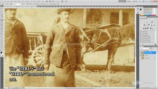getlinkyoutube.com-How to Repair and Restore Old Photos in Photoshop Tutorial - TutorialCraft