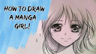 getlinkyoutube.com-How to draw a Manga girl