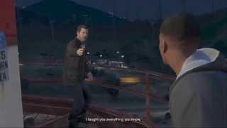 getlinkyoutube.com-Grand Theft Auto 5 - Final Mission choice B - Save Michael