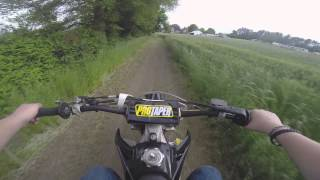 getlinkyoutube.com-First Ride On My New crf250r (Episode - 6)