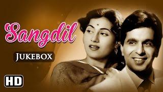 All Songs Of Sangdil {HD} - Dilip Kumar - Madhubala - Shammi - Old Hindi Songs