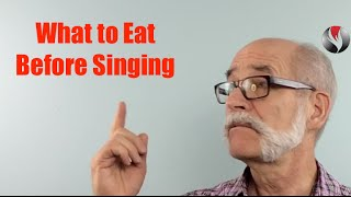Ep 100 What to Eat Before Singing