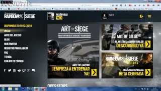 getlinkyoutube.com-Raimbow Six SIEGE Conseguir tu codigo beta para PC PS4 Xbox