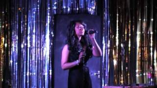 Jasmine Rawlins singing Can't help loving that man of mine