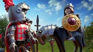 getlinkyoutube.com-PLAYMOBIL Knights - der Film (Deutsch)