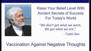 Vaccination Against Negative Thoughts