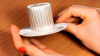 getlinkyoutube.com-Как сделать шляпку своими руками? / Мастер Класс / Основа для Канзаши