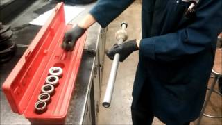 How to remove camshaft bearings
