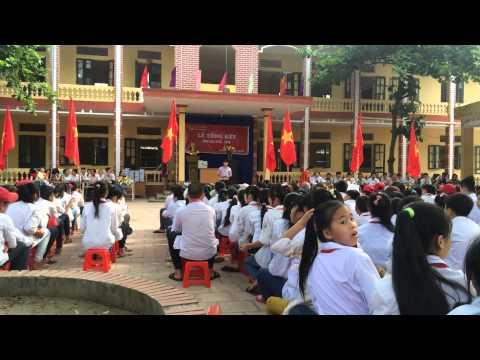 Bản Hùng Ca Chim Lạc - Thầy Lâm - Lễ tổng kết năm học Trường THCS Hòa phong.