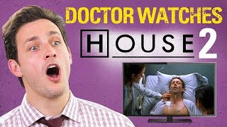 Doctor Reacts to HOUSE M.D #2. |