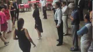 getlinkyoutube.com-Tango and Vals Step Lesson - SANGUCHITO RITMICO LINEAL & GIRANDO