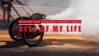 Ludacris ft. Usher & David Guetta - Rest Of My Life (Making Of)