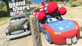 getlinkyoutube.com-Grand Theft Auto V - Criminal Activity with [SHERIFF] From CARS -  GTA 5 Disney CARS MOD