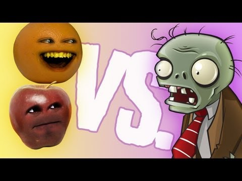 Fruit vs Zombies: Midget Apple