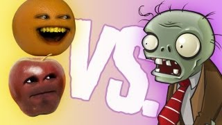getlinkyoutube.com-Fruit vs Zombies: Midget Apple