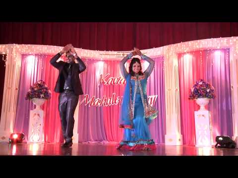 Malaysian Indian wedding reception of Kavi & Maha