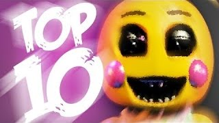 getlinkyoutube.com-Top 10 Facts About Toy Chica – Five Nights at Freddy's