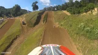 "getlinkyoutube.com-Gavin Wilkins Millville (Donny Schmit Memorial Race - 250 ""B"" - Moto 1) GoPro - HardlineMX"
