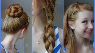 getlinkyoutube.com-3 Simple, Quick, and Easy Back to School Hairstyles!