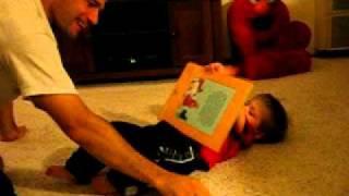 getlinkyoutube.com-Luke wrestling with Daddy