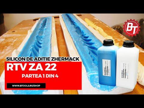Realizare matrita flexibila din silicon RTV-ZA22  - Lumanare de cununie - Partea 1 din 4