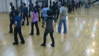 getlinkyoutube.com-Totoy Bibo - Line Dance (Demo & Walk Through)