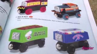 getlinkyoutube.com-NEW 2013 Thomas Wooden Railway Yearbook - Fisher Price Toy Train Tank Engine King of The Railway