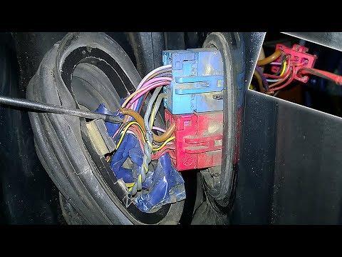99% почему не работает стеклоподъемник (проводка или мотор)