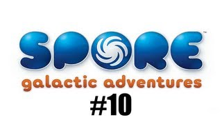 Spore Galactic Adventures Let's Play Commentary | #10 - Epic Paper Mario