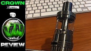 getlinkyoutube.com-Crown V1 Subohm Tank by UWell REVIEW! Is This the KING???