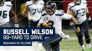 Russell Wilson Leads 89-Yard Opening Drive TD! | Seahawks vs. Falcons | NFL Divisional Highlights